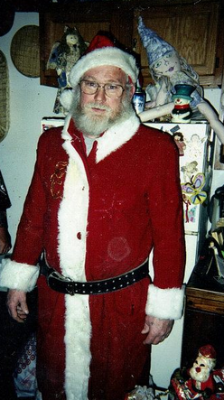 My Dad As Santa!