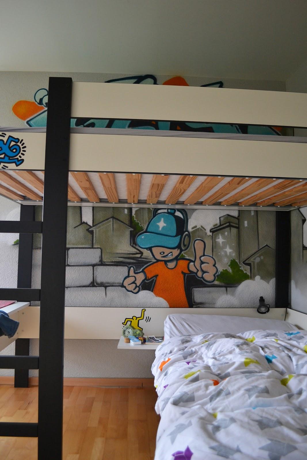 Sprayer , graffiti künstler, trompe l'oeil (Bern, Aarau, Zürich ...