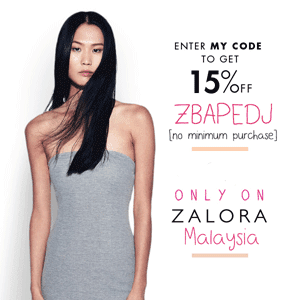 New Shopper to Zalora?