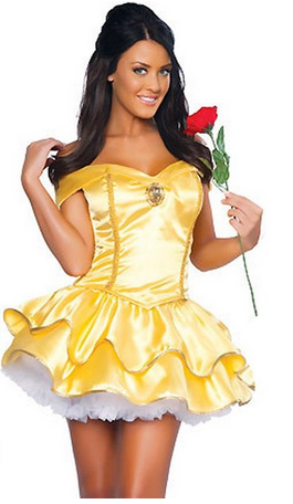 SHAN&SHUN Women's Belle Disney fairy tale princess Dress
