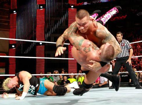 مشاهدة عرض مصارعة WWE Monday Night Raw 10/9/2012 مهرجان يوم ليلة الاثنين بدون تحميل يوتيوب كامل