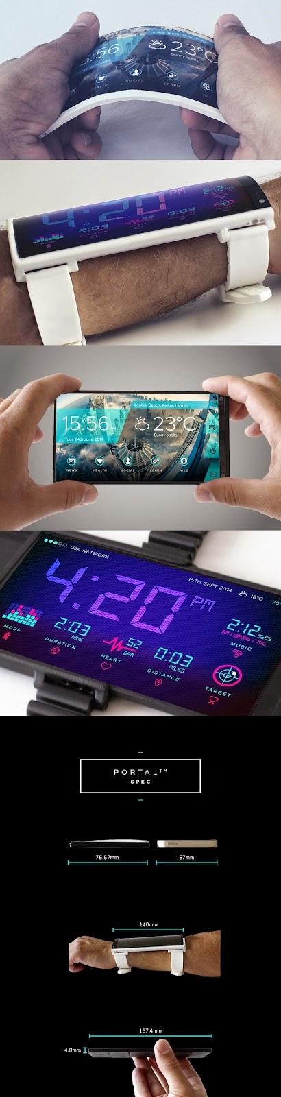 Portal phones: a flexible smartphone