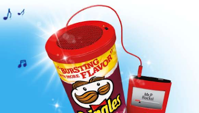 Pringles Can Speaker Rebate