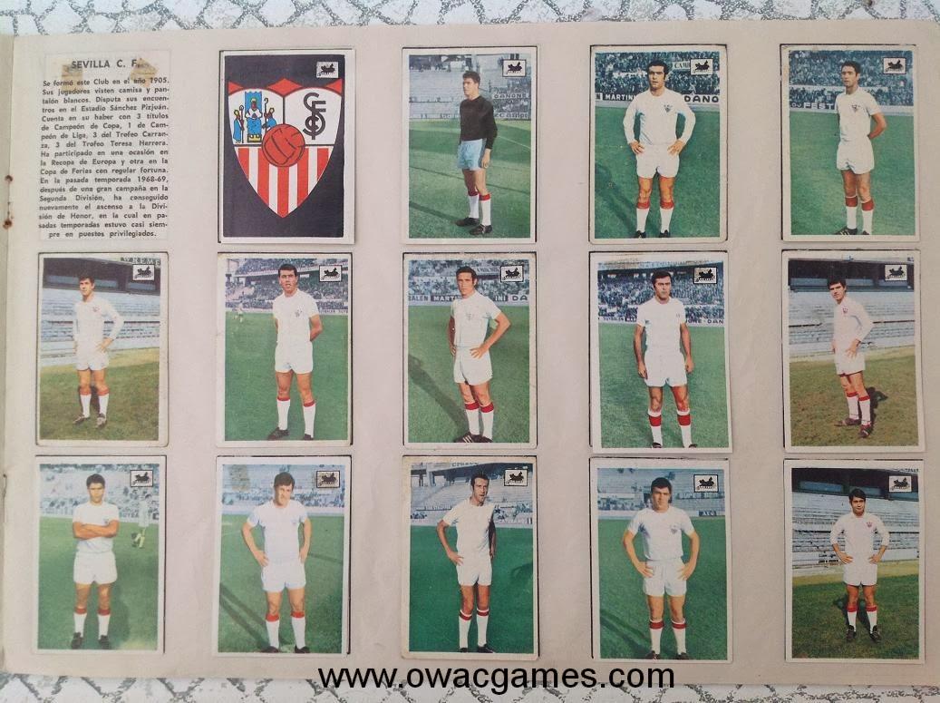 Sevilla 1969-70 Chocolates La Cibeles
