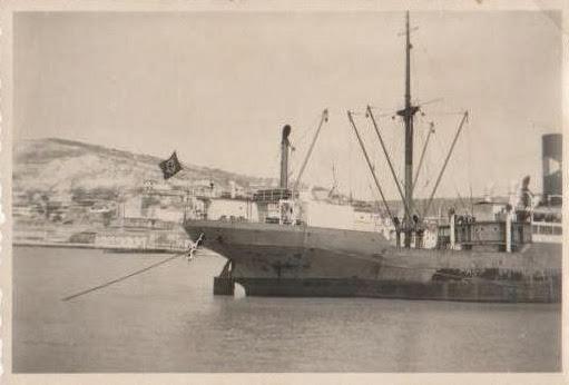 Vapor in portul Balcic