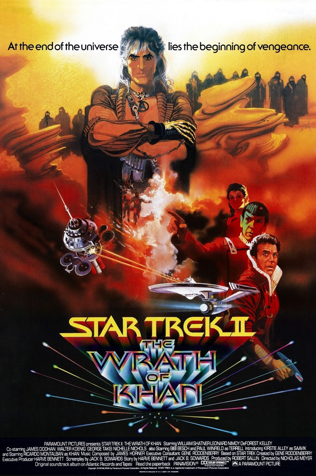 Star Trek II: La ira de Khan (Viaje a las estrellas 2)