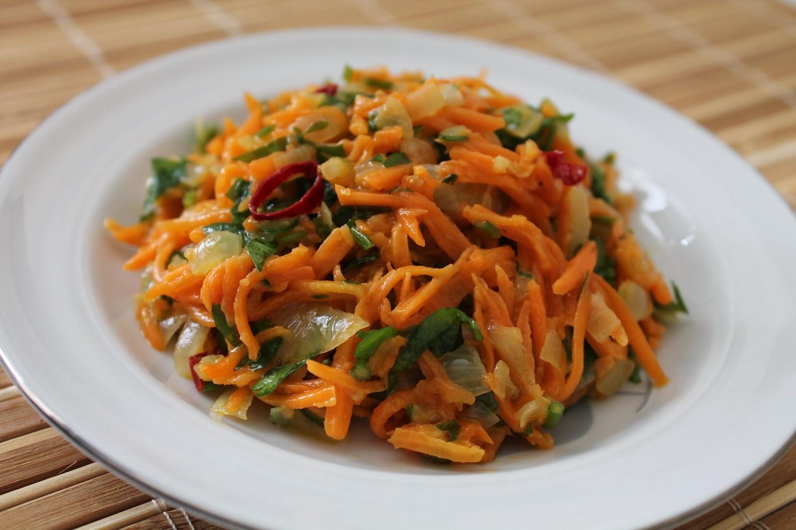 Зимний салат из кабачков с морковкой
