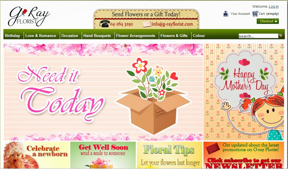 G-Ray Florist Online Delivery