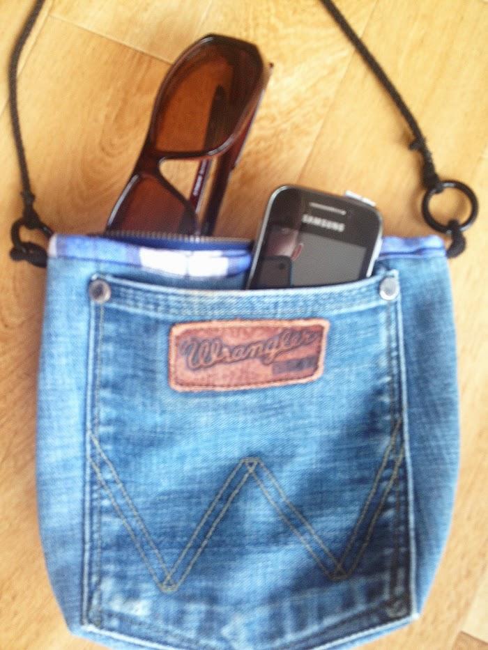 Redesign og gjenbruk: Hofteveske av jeans