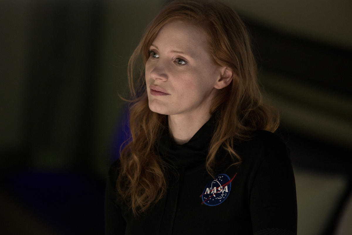 Jessica Chastain as Commander Lewis