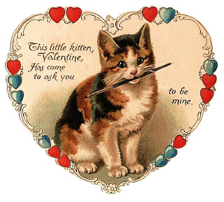 I Love The Old Artwork  But Had No Idea How Many Old Cat Valentines Were  Out There! I Chose A Few Of My Favorites To Post Here. If Youu0027re Curious,  ...