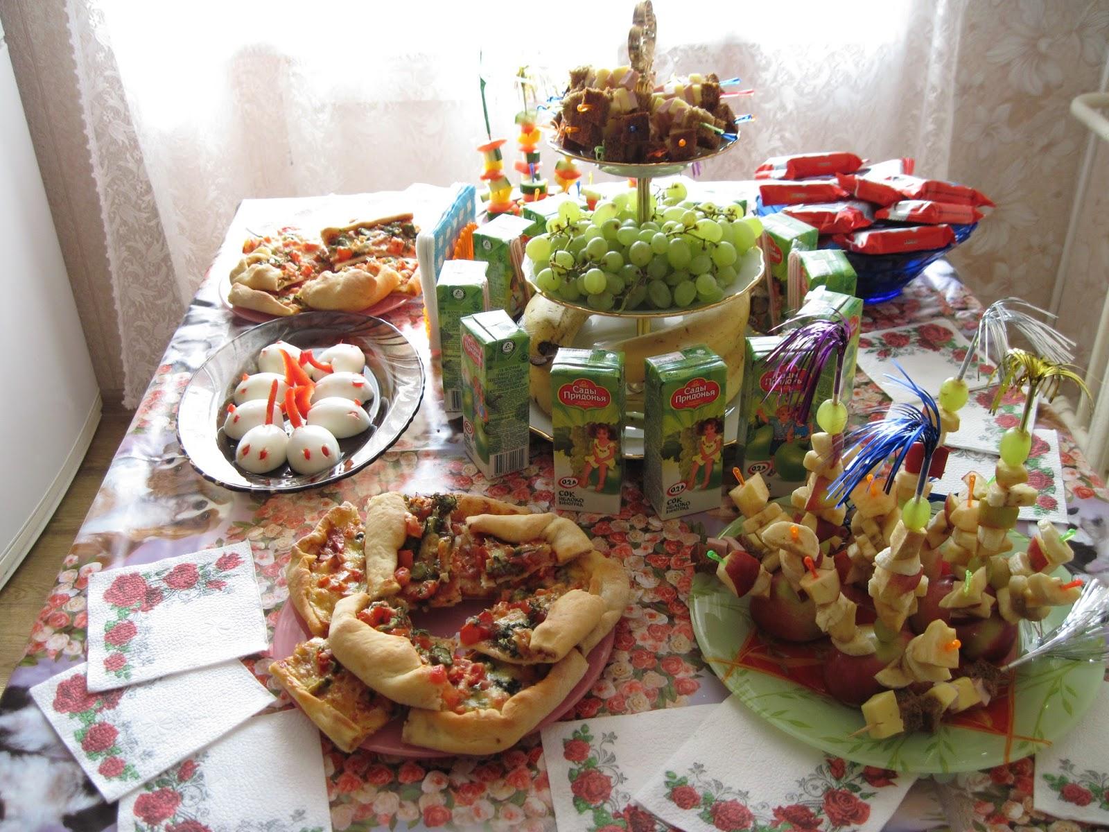 Праздничный стол как его сделать