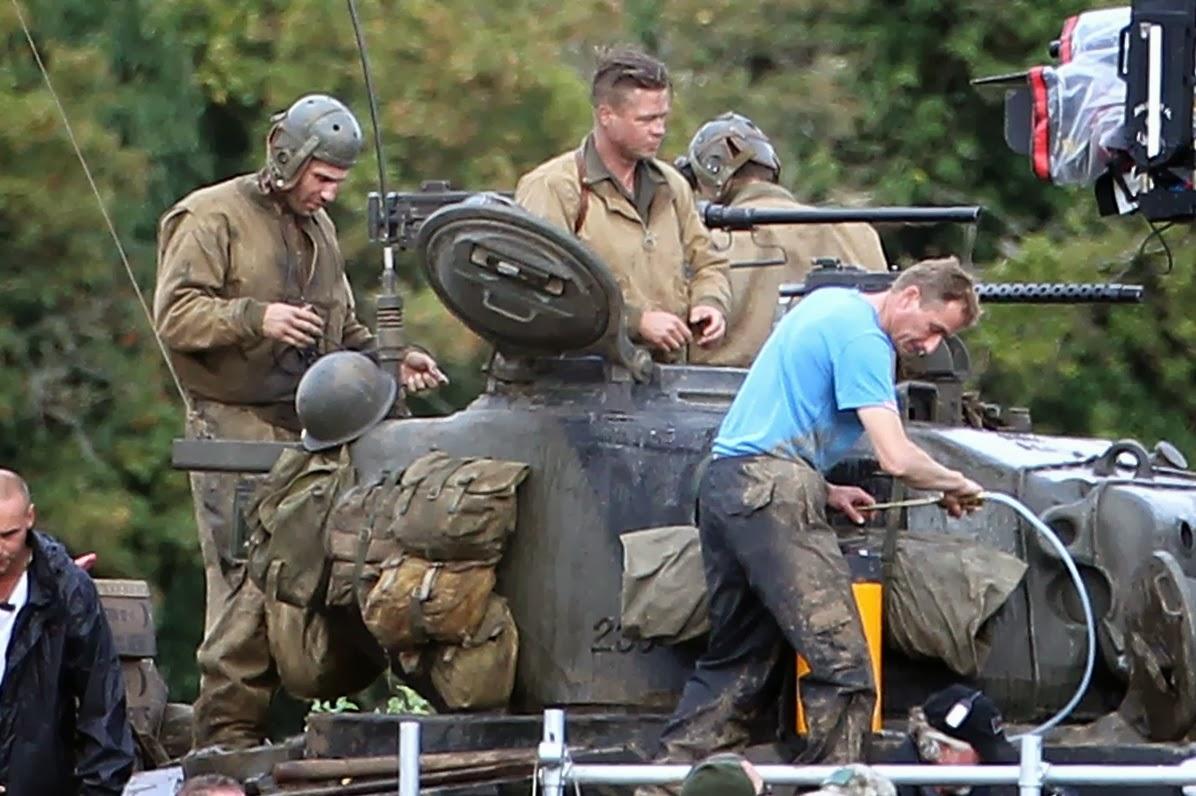 Fury Movie Starring Brad Pitt Teaser Trailer