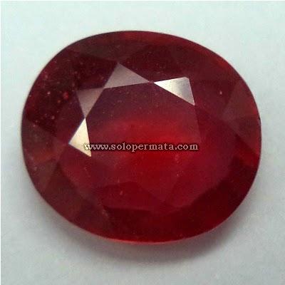 Batu Permata Ruby Corundum Huge
