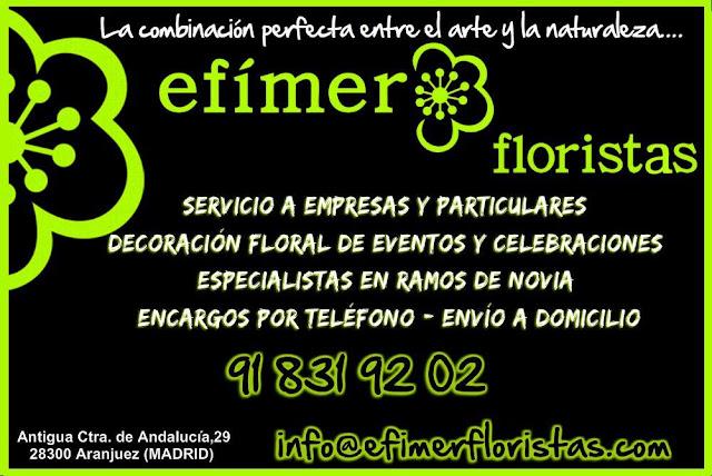 Oferta de Efímer Floristas