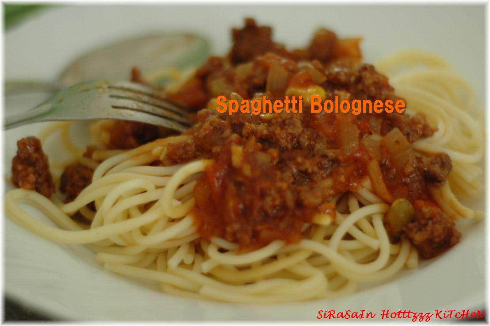 ... HoTtTzZz KiTcHeN CeNtRe(SSHKC): Tip menyedapkan Spageti Bolognese