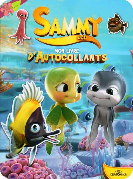 Sammy & Co, mon livre d'autocollants -  Les livres du Dragon d'or
