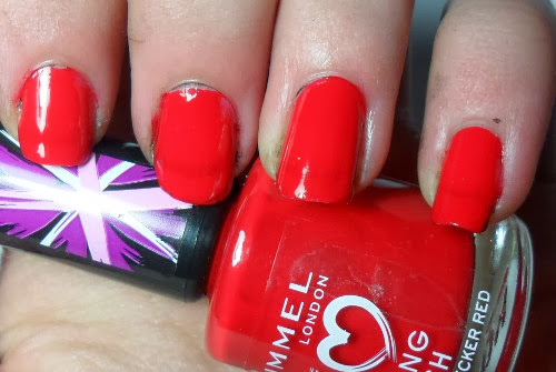 Rimmel Double Decker Red Swatch