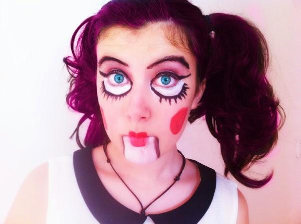 Maquillaje de muñeca para niña - Imagui