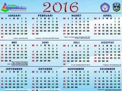 Kalender Dapodik 2016