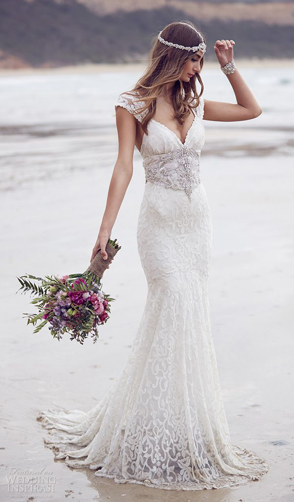 beach wedding dresses pinterest