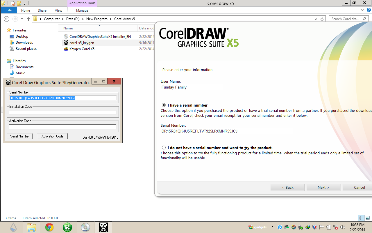 crack corel draw x5