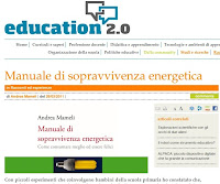 sopravvivenza energetica education 2.0