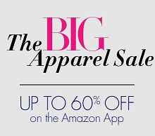Amazon App Offer : The Big Apparel Sale at Upto 60% Off : Buytoearn