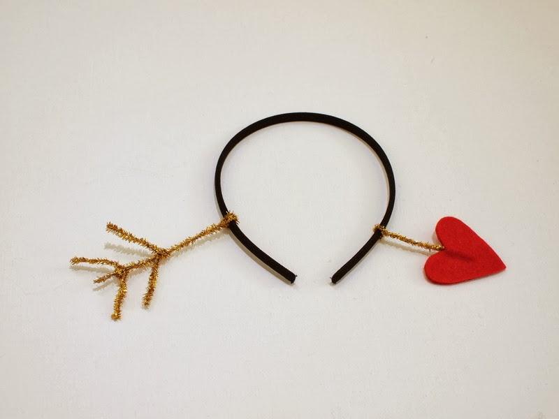 Make A Valentine S Day Arrow Through The Head Headband Pink