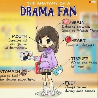 Drama fan