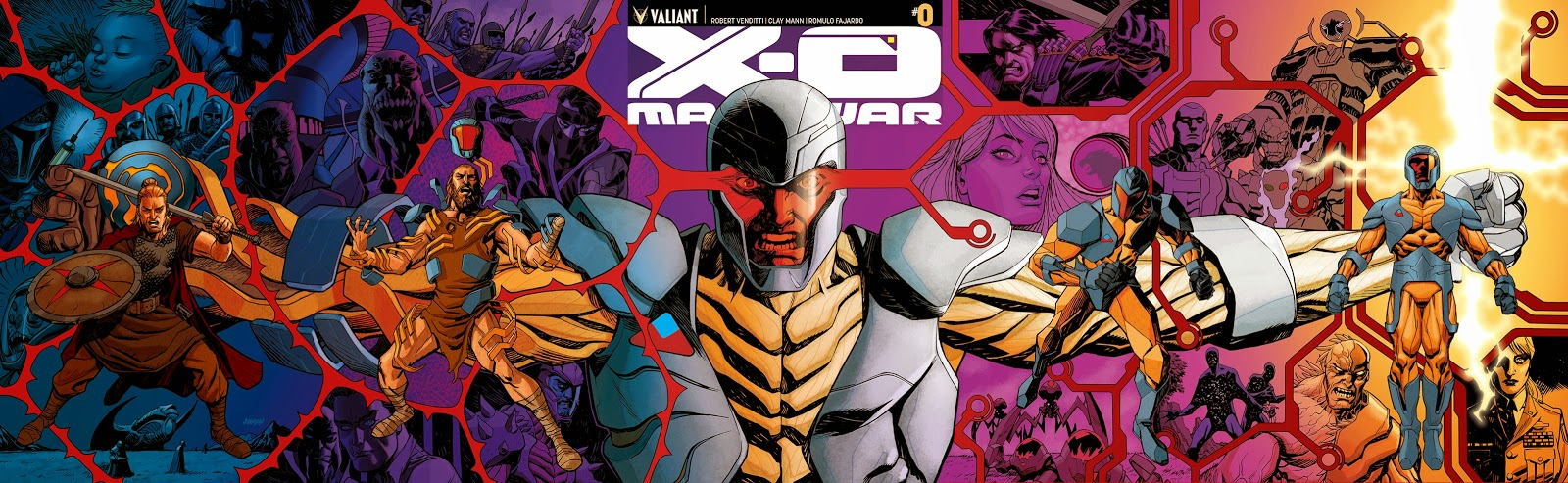 Valients X-O MANOWAR #0 Preview cover art