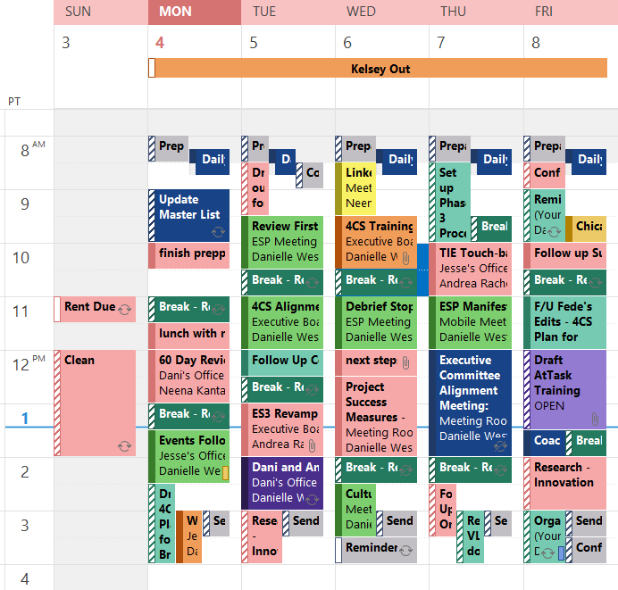 ... , and Other Superheroes: Using Your Calendar for Time Management