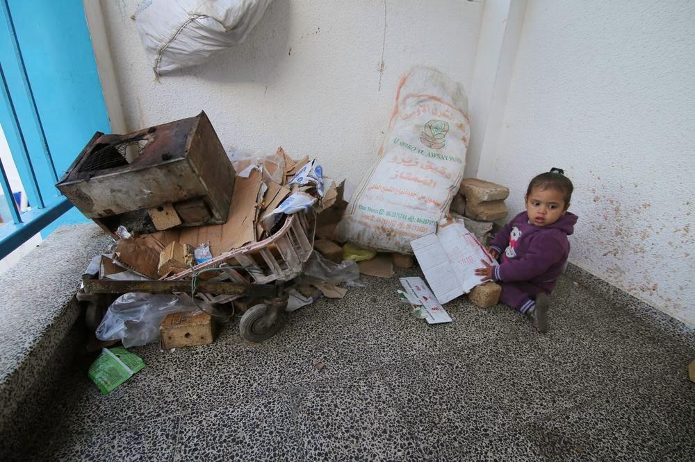 Pengungsi Gaza