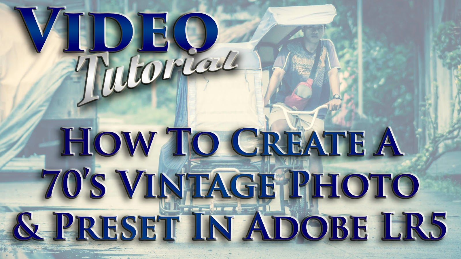 Learn How To Create A 70's Vintage Photo & Preset In Adobe Lightroom 5