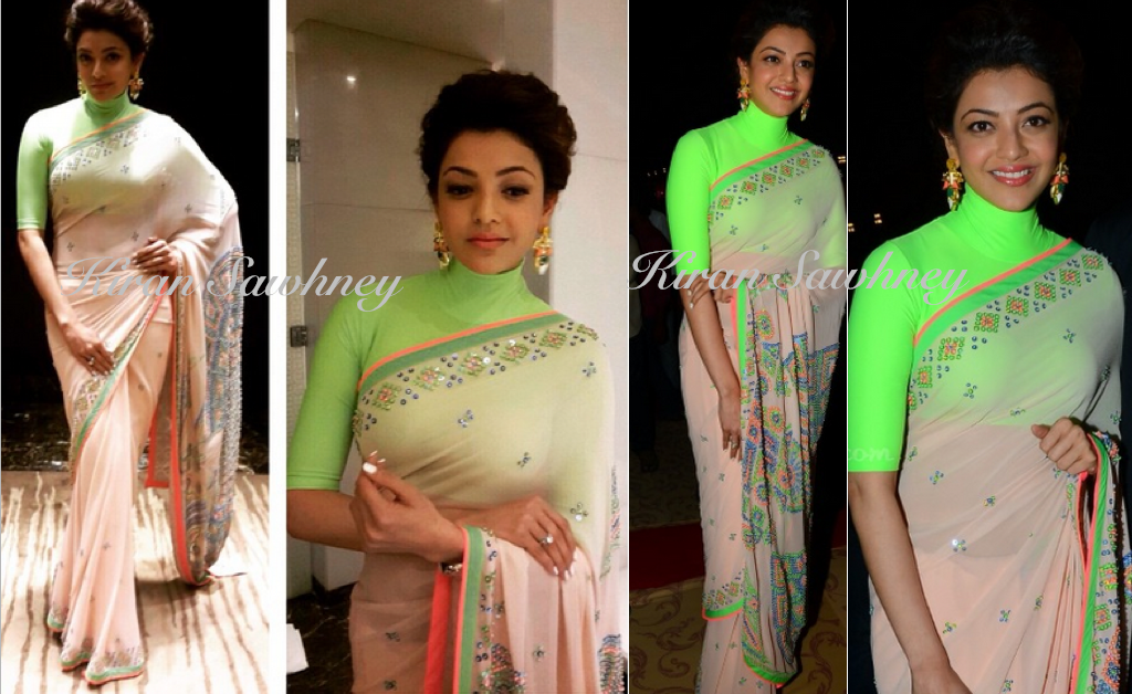 Kajal Aggarwal at Rajiv Reddy-Kavya Wedding Reception