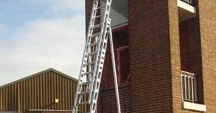 becoming firefighter ing  ladder drill