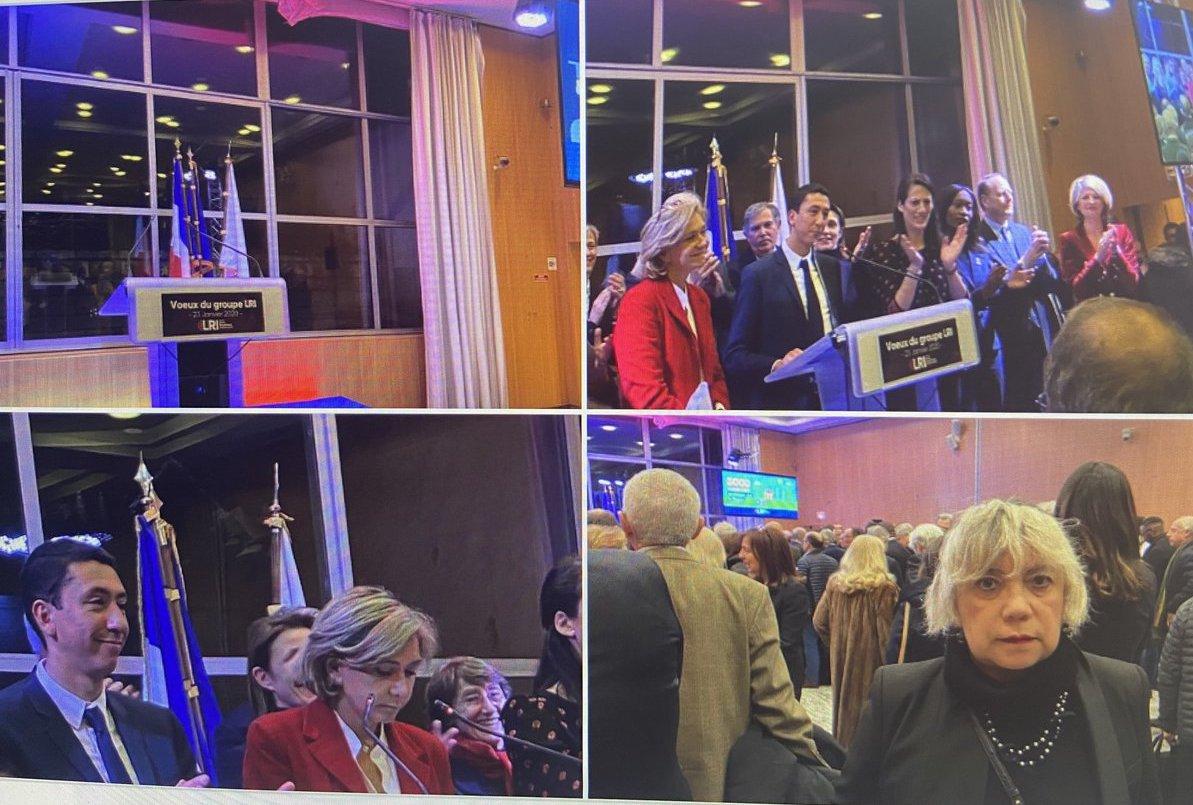 🇫🇷Cérémonie des Voeux 2020 du Groupe #Libres #Républicains #Indépendants d'Ile de #France. #IDF .
