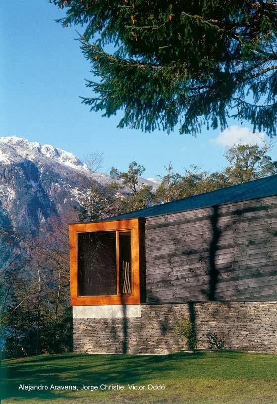 Sector de residencia al sur de Chile en Lago Pirihueico