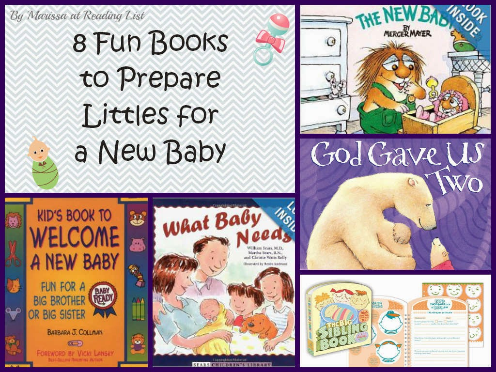Fun books to prepare for new baby  {Reading List} Cozy Reading Spot
