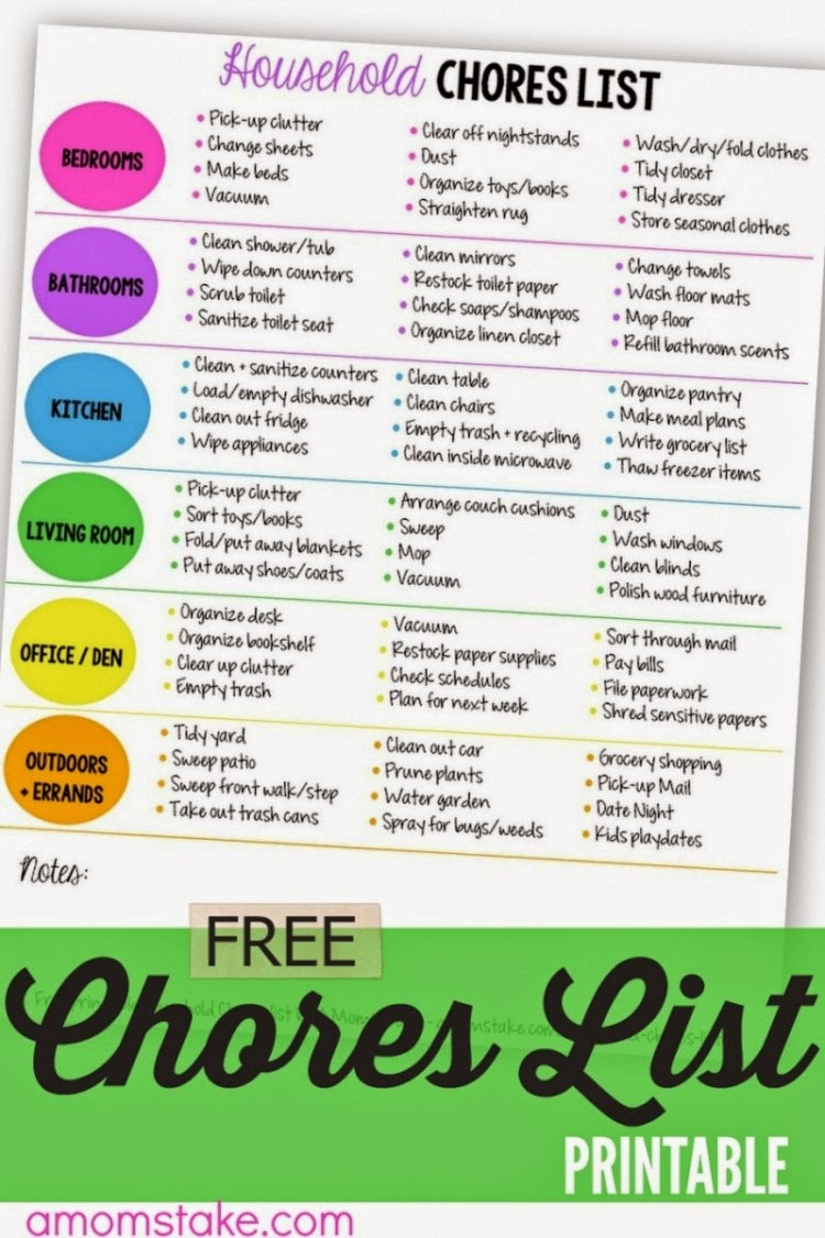 2 free printables  household cleaning list and diy fishing game at wonderful wednesday  124