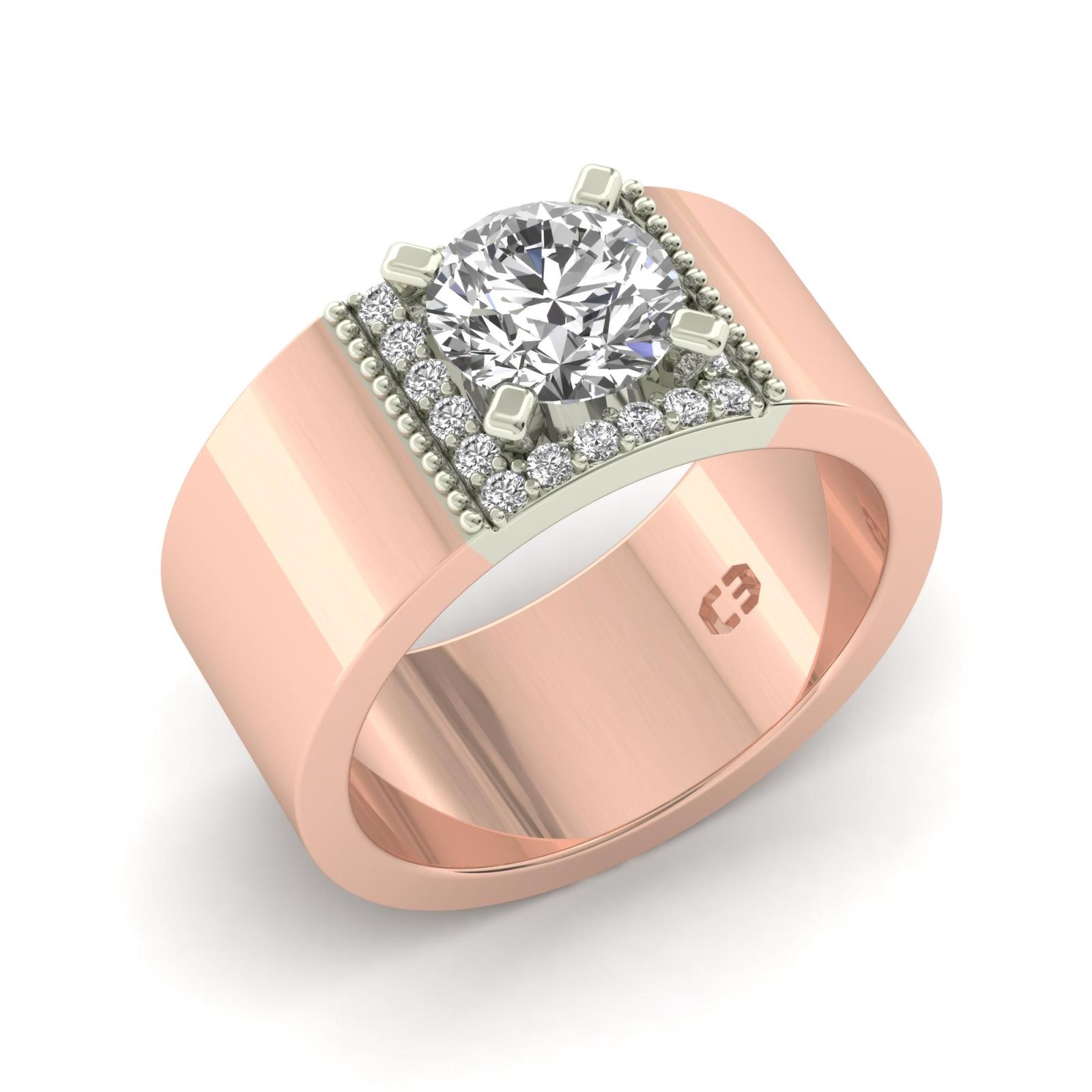 wide band engagement ring designs. Black Bedroom Furniture Sets. Home Design Ideas