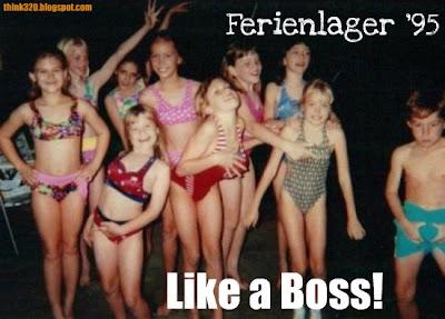 Ferienlager 1995 Like a Boss!