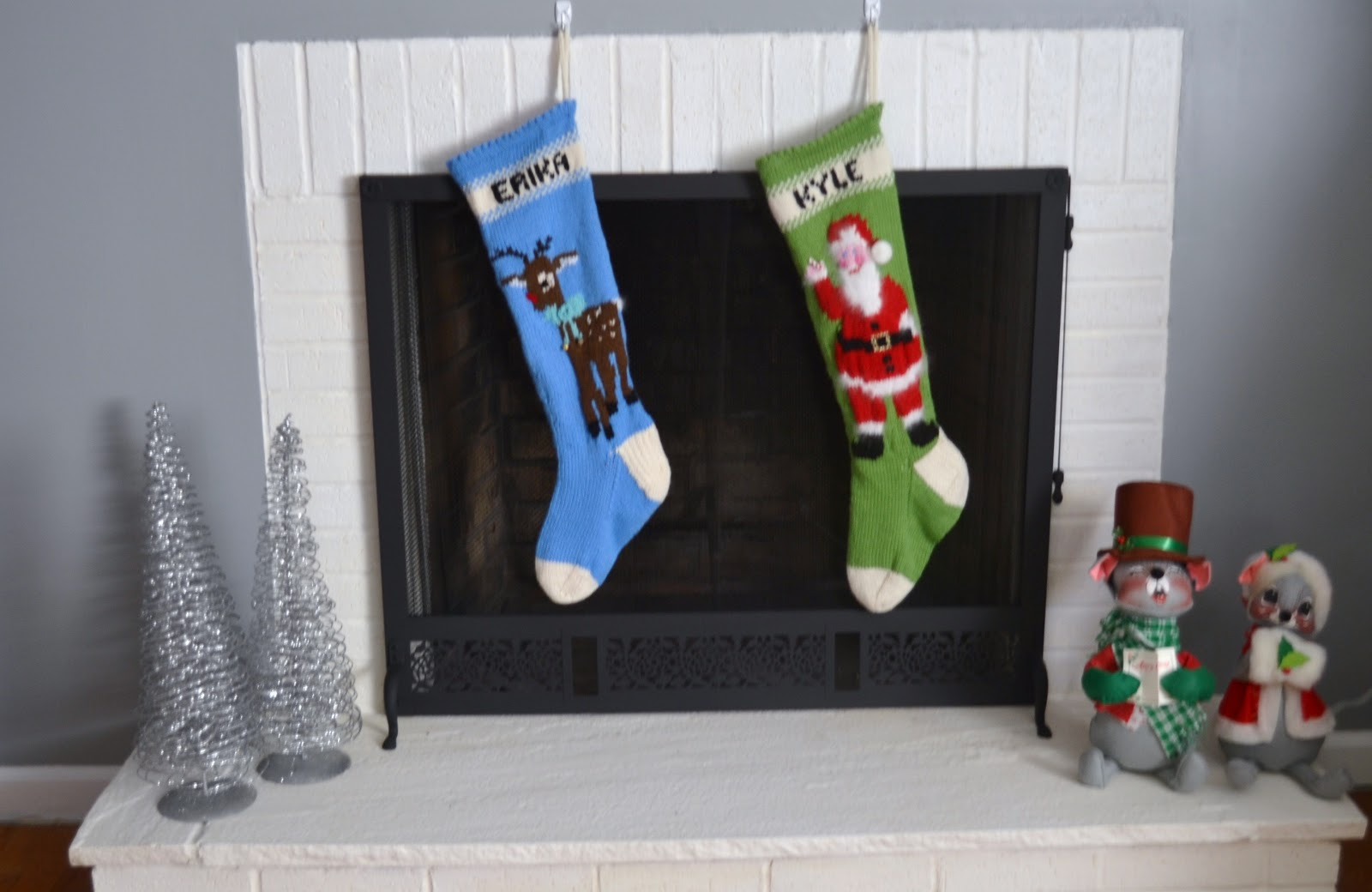 Erika Made It: Christmas Craft Week: Knitted Stockings