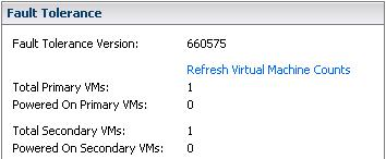 this machine failed to become vsphere ha protected