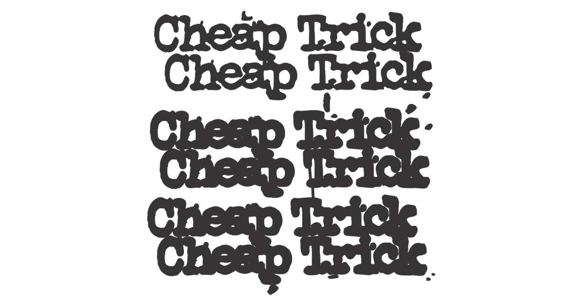 Cheap trick logo for Cheap logo