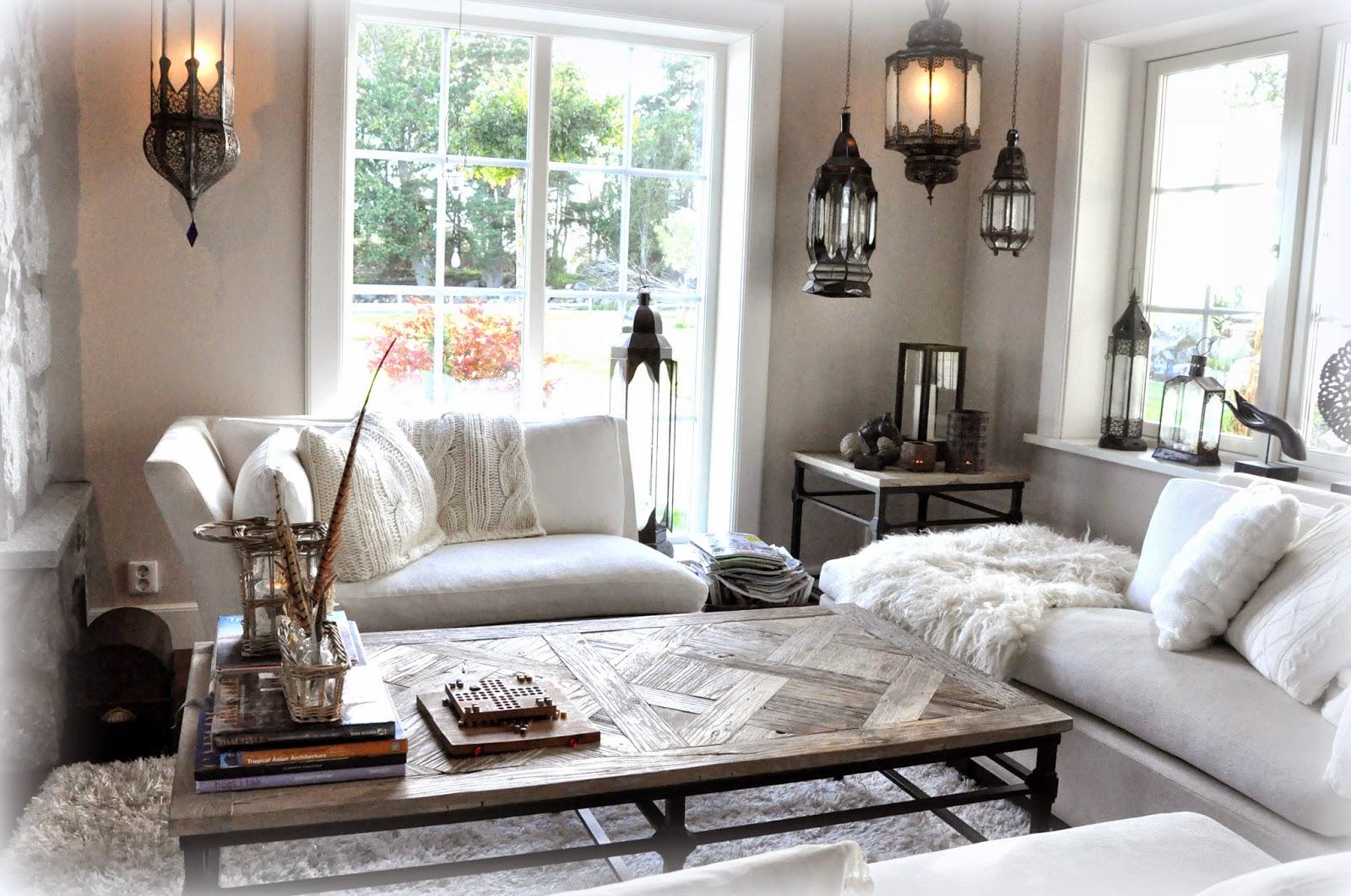 Den vita drömgården: Ännu mera vitt i köket