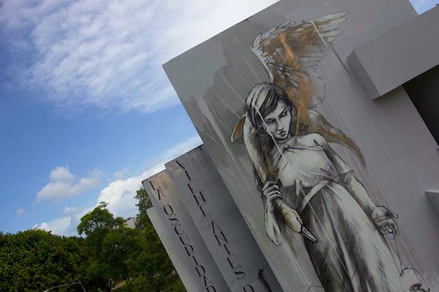 """Marauders"" New Street Art Mural By Faith47 For Los Muros Hablan '13 In Puerto Rico."