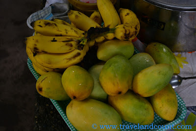 Bring fruits at Mambukal