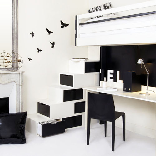 Apartment Decorating Black And White