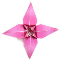 Origami Flower Design Pictures